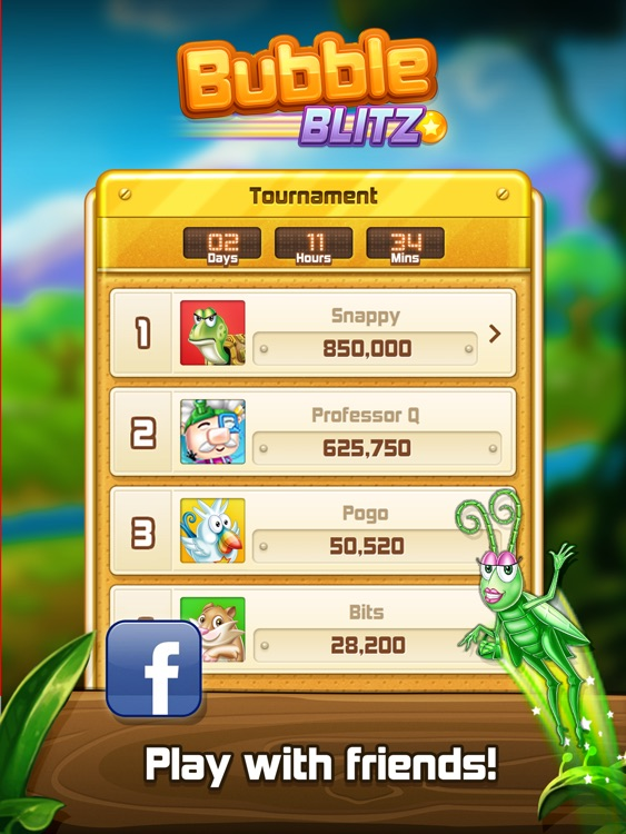 Bubble Blitz HD screenshot-3