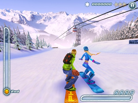 Screenshot #2 for Snowboard Hero
