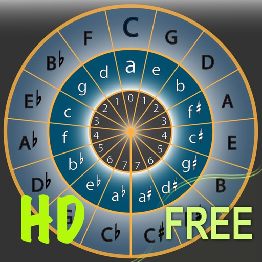 Circle of 5ths HD - Free Edition