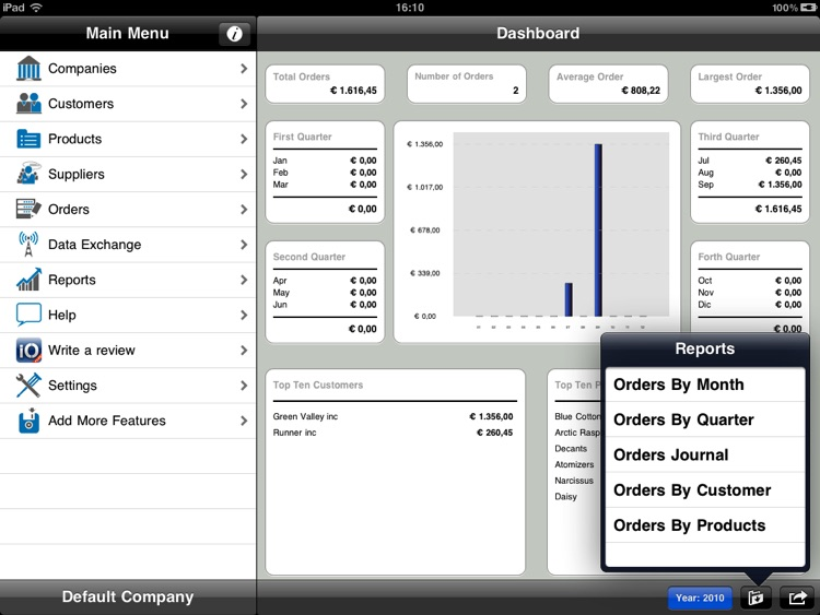 iOrder Lite iPad screenshot-4