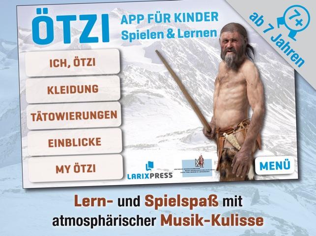 Ötzi - App für Kinder – Spielen & Lernen Screenshot