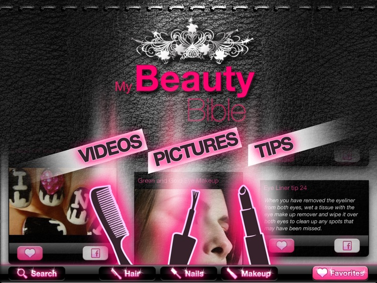 My Beauty Bible PRO – Hair, Nails & Makeup screenshot-0