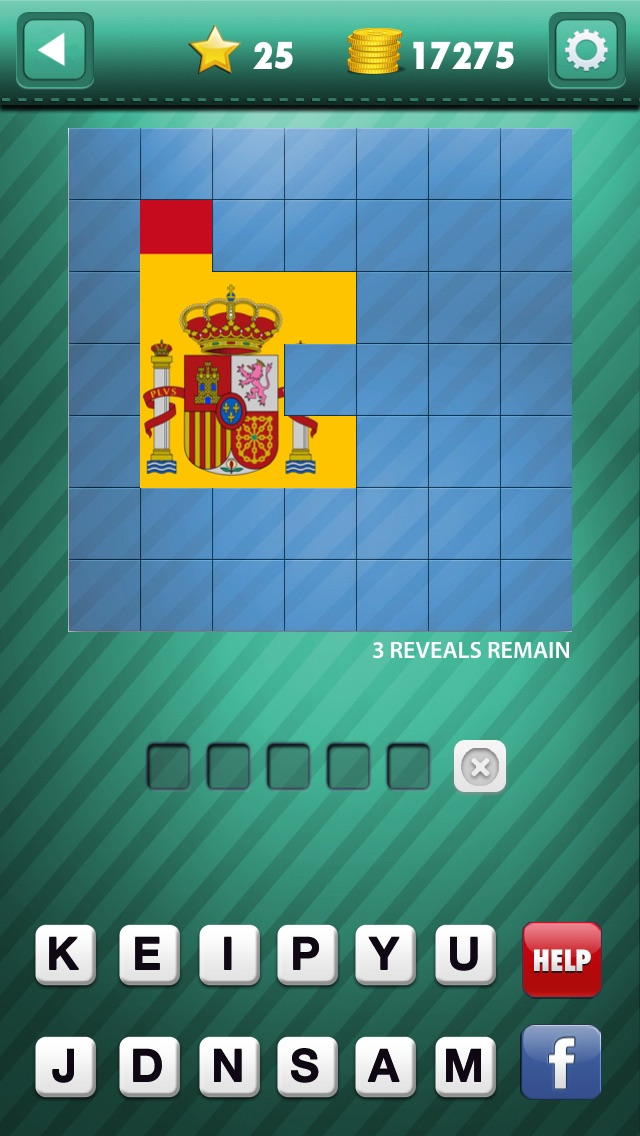 Guess the Pic! Can you answer what's that pop place in this flag icon quiz game? screenshot two