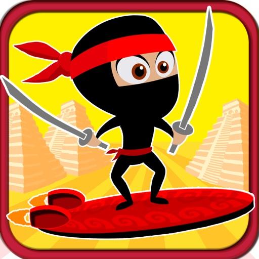 A Temple Ninja Race - Free Racing Game icon