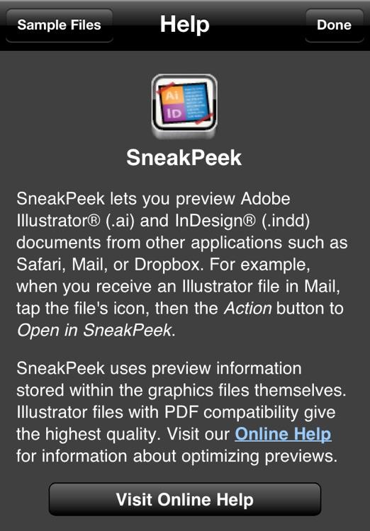 SneakPeek screenshot-4
