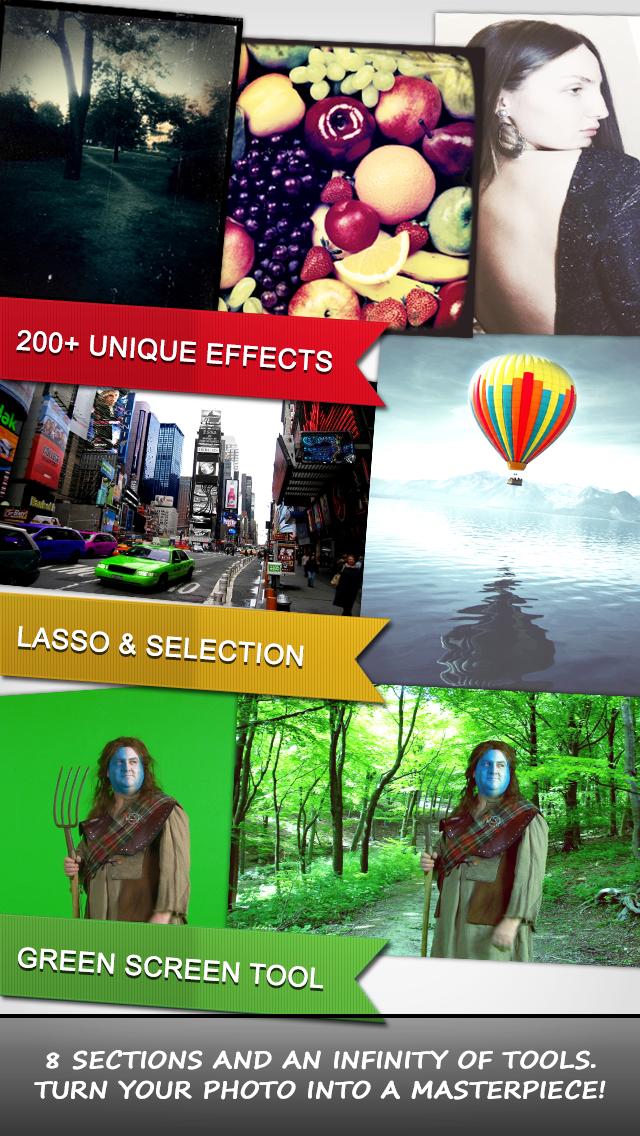 PhotoNova+ 2 - Photo Editor with Selective FX & Lasso screenshot two
