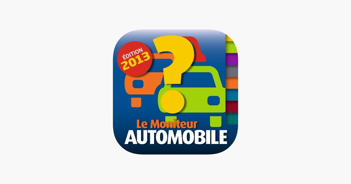 moniteur automobile guide d achat 2013 dans l app store. Black Bedroom Furniture Sets. Home Design Ideas