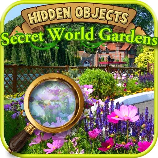 Hidden Objects: Secret World Gardens