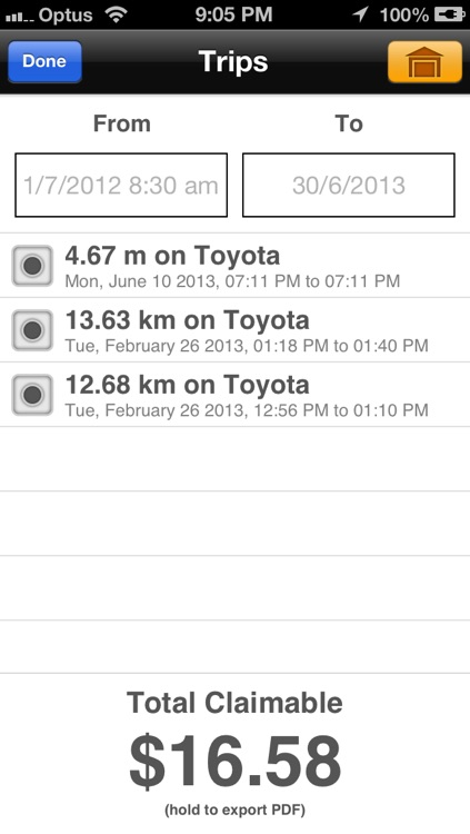 KM Tracker screenshot-1