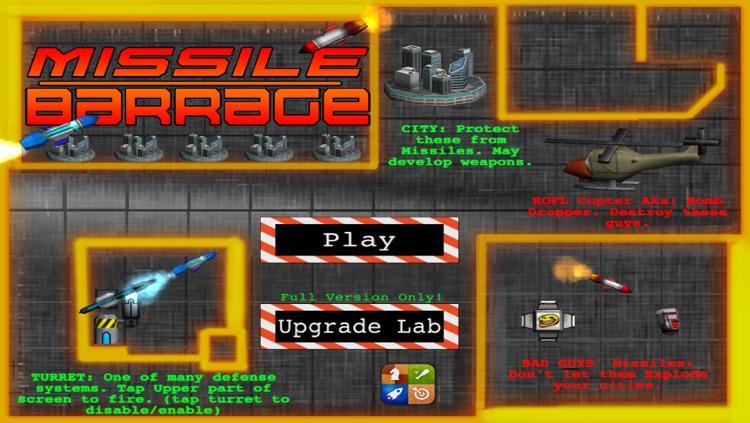 Missile Barrage