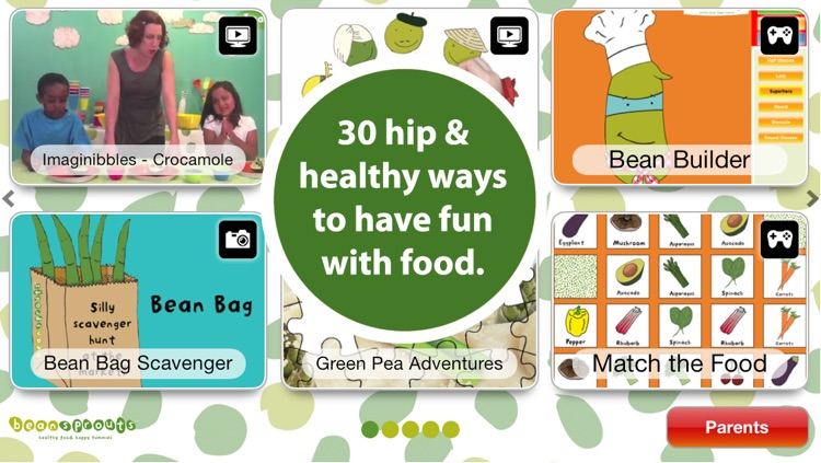 Cooking Fun For Kids: Healthy Playful Recipes, Food Games, and Videos for Kids in the Kitchen by Bean Sprouts