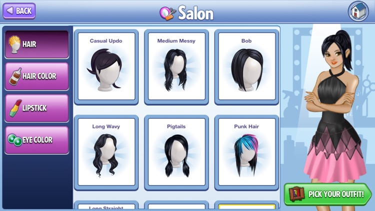 Campus Makeover:  Salon and Dress-Up Game