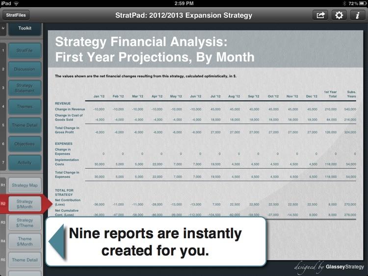 Strategic Business Plan screenshot-3