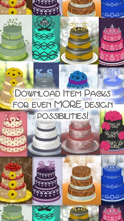 CreateShake: Wedding Cake Designer screenshot-4