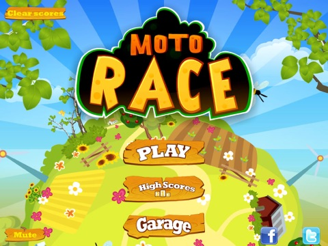 Screenshot #4 pour Moto Race Free
