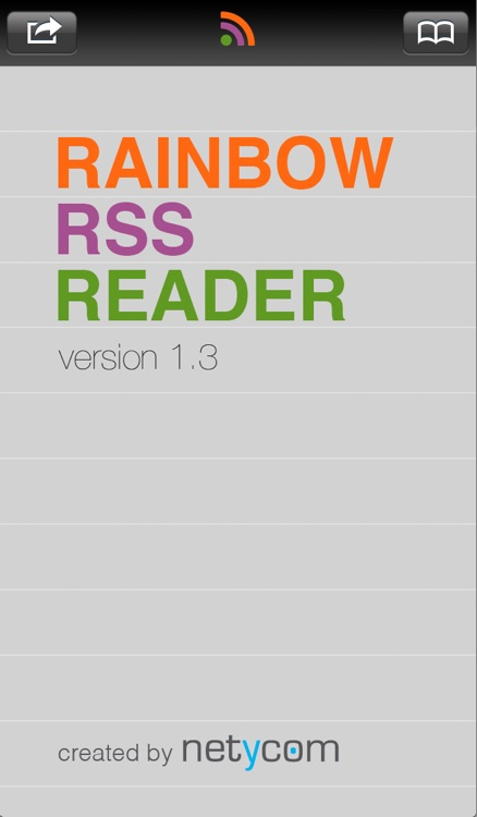 Rainbow RSS Reader