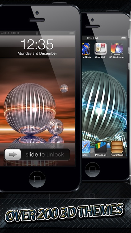 3D Themer Pro HD - Wallpapers and Themes by Go Free Games - Best Top