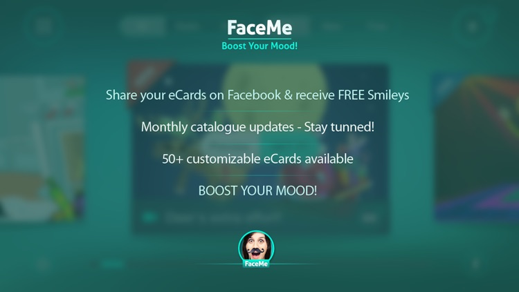 FaceMe Video Booth FREE - send funny eCards screenshot-4