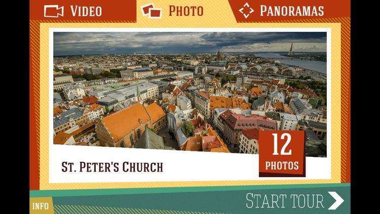 Riga. Photo-Video guide + virtual tour