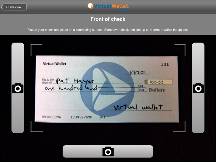 Virtual Wallet for iPad by PNC screenshot-4