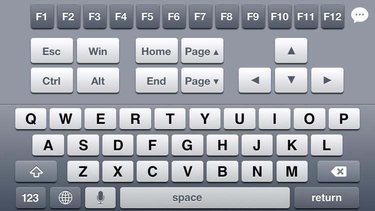 Remote Keyboard+ Lite (Wireless Keyboard & Trackpad)
