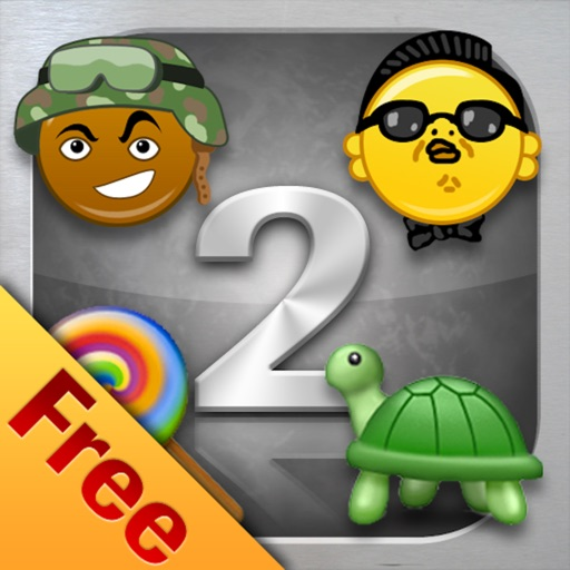 Emoji Characters and Smileys Free! Icon