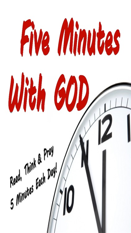 5 Minutes With God