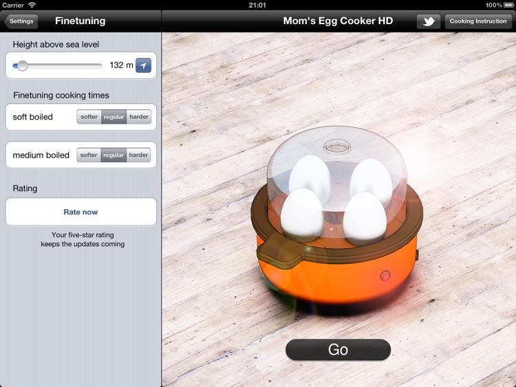 Mom's Egg Cooker HD screenshot-3