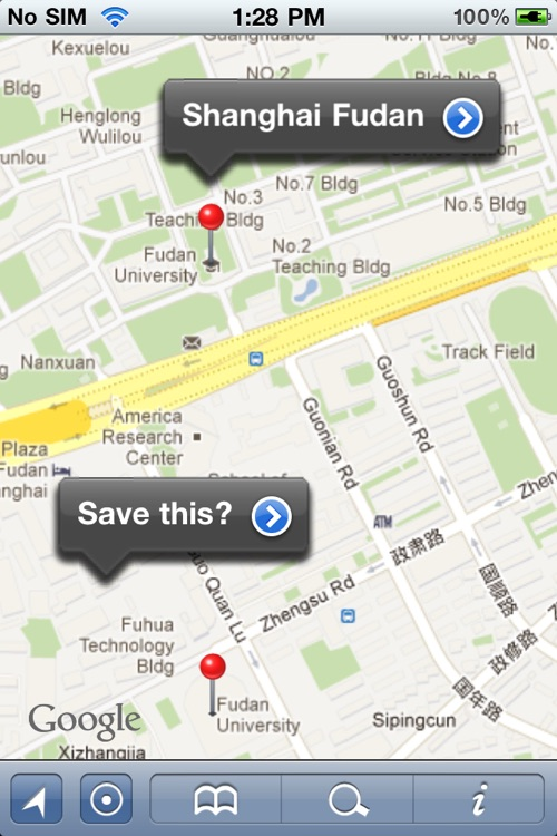 Shanghai Offline Street Map (English+Chinese)-上海离线街道地图 screenshot-0