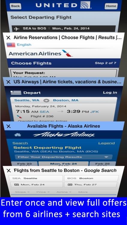 Boston Logan Airport - Flight Tracker Premium screenshot-4