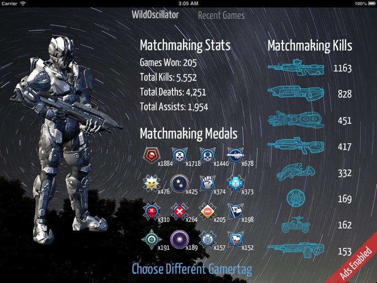 Spartan Stats HD screenshot-1