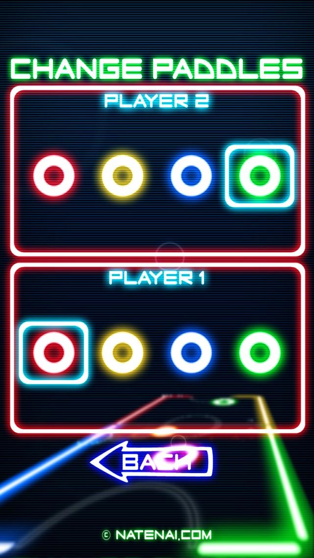 Glow Hockey Screenshot