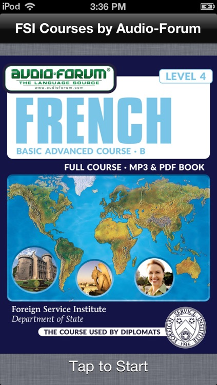 French Basic Course Advanced B (Level 4) -  by Audio-Forum / Foreign Service Institute screenshot-0