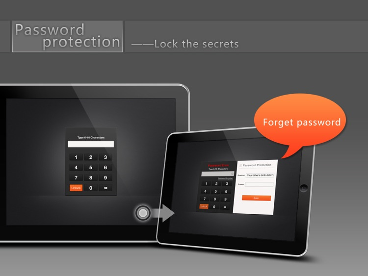 MyFolder HD & Professional private document management --Pro