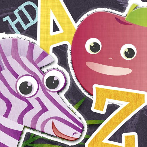 ABC Animal vs. Veggie Flash Cards HD - Fun Alphabet Flashcards for Kids