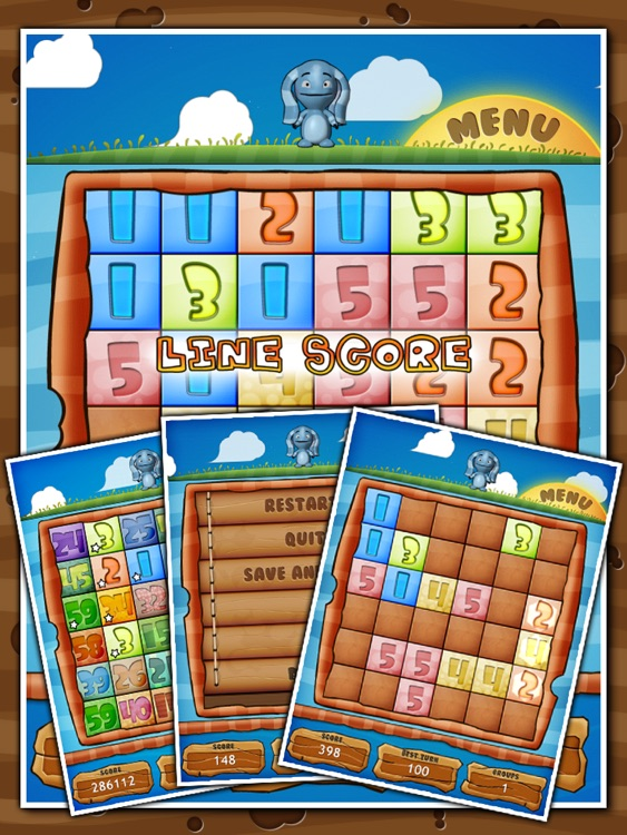 Reiner Knizia's Yoku-Gami HD screenshot-4
