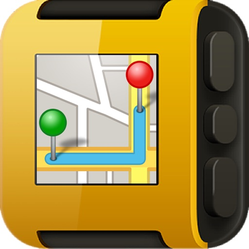 GPS Map for Pebble SmartWatch - mini Wrist Navigator & Maps & Directions & Speeds