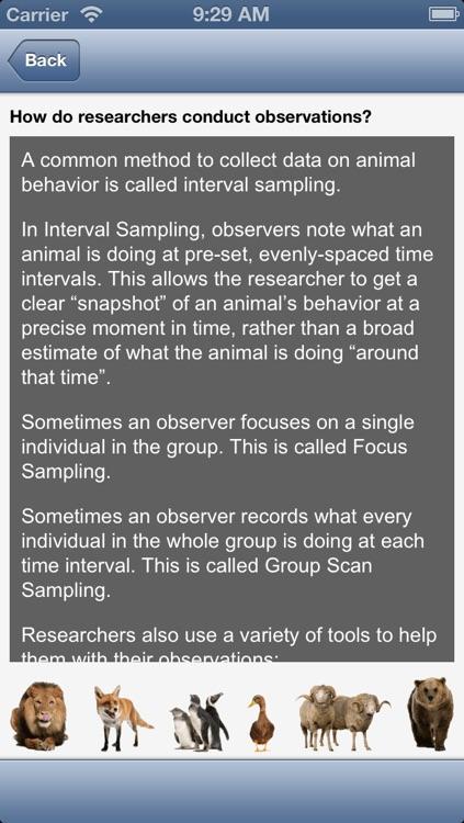 Observe to Learn: Exploring Animal Behavior