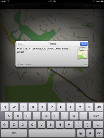 Location+ iPad