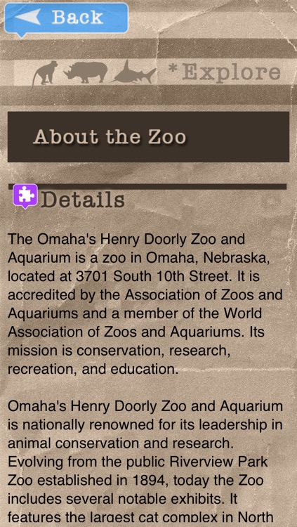 Zoo Explorer - Henry Doorly Omaha