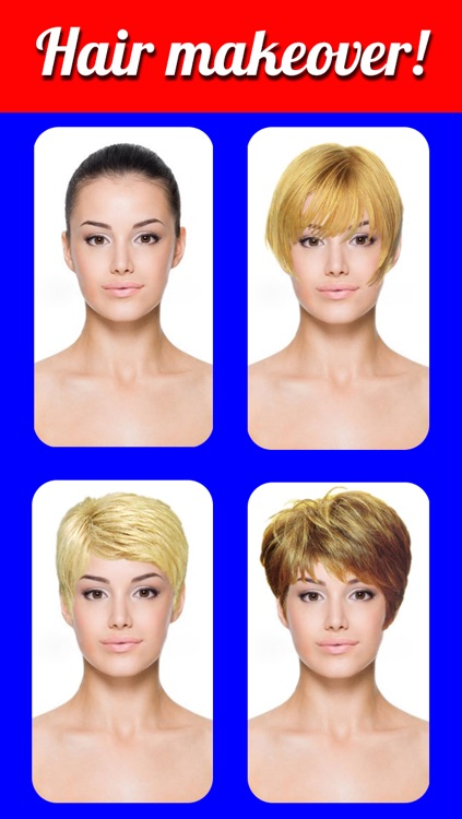 Hairstyles Makeover Pro- Virtual Hair Try On to Change yr look screenshot-3
