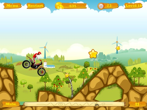 Screenshot #6 pour Moto Race Free