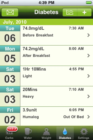 Carb Master - Daily Carbohydrate Tracker screenshot-4
