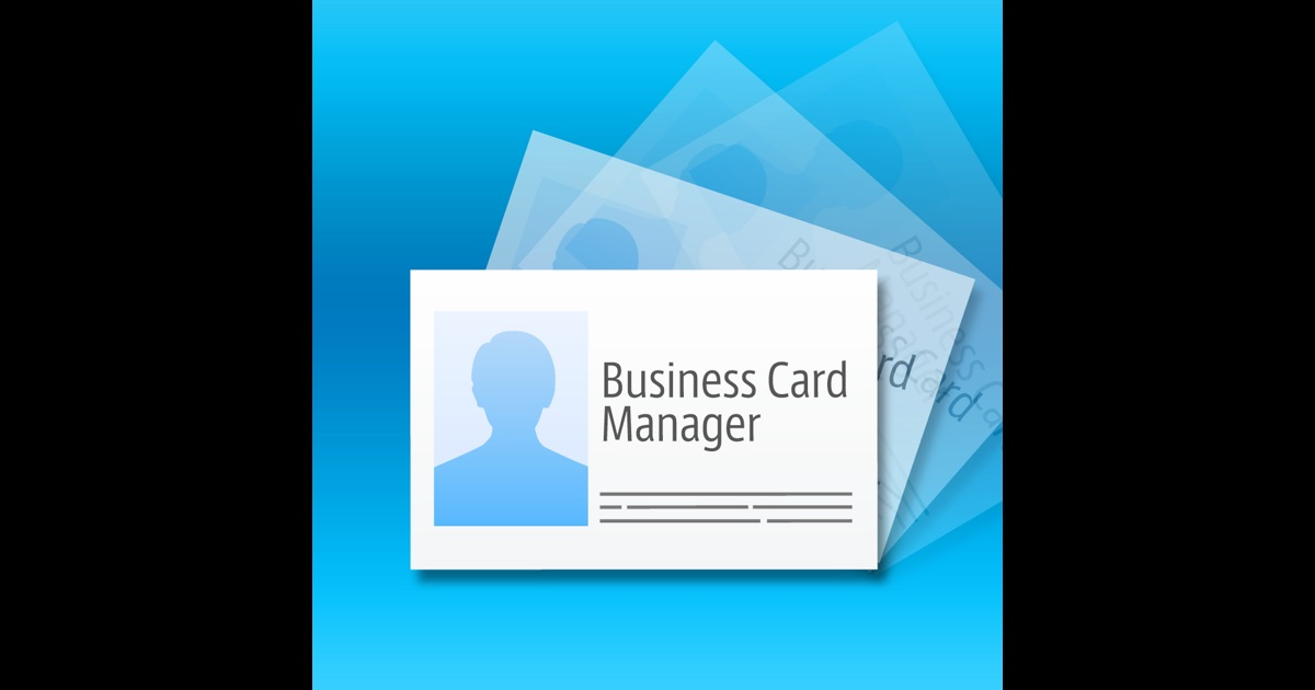 Business Card Manager on the App Store