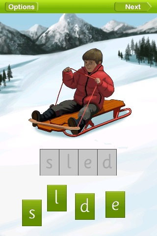 Spelling Ride screenshot-1