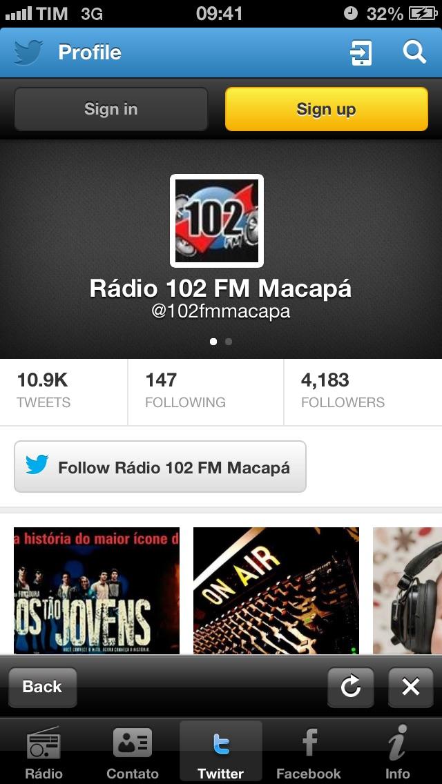 Rádio 102 FM | Macapá | Brasil-2