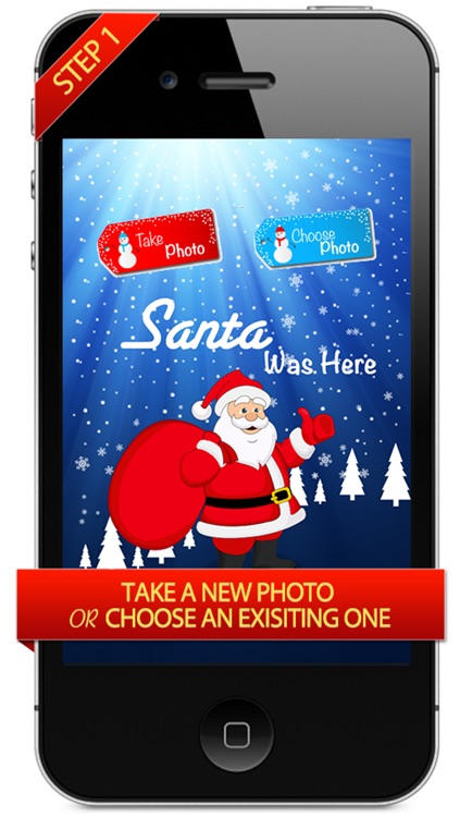 Santa Clause Was Here - Make Saint Nick Appear in Your Children's Pictures Like Magic