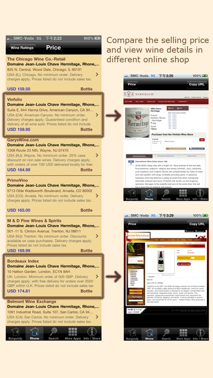 Wine Experts Rating (Burgundy & Rhone Wines) screenshot-4