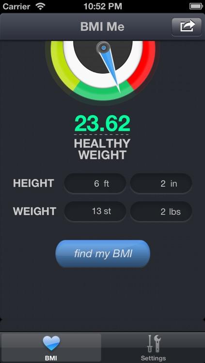 BMI Me Calculator