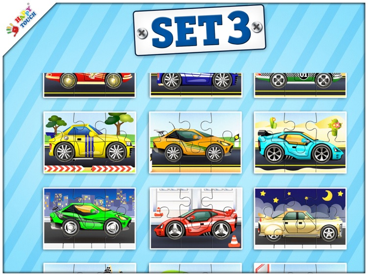 Car Puzzles for Kids (by Happy Touch)
